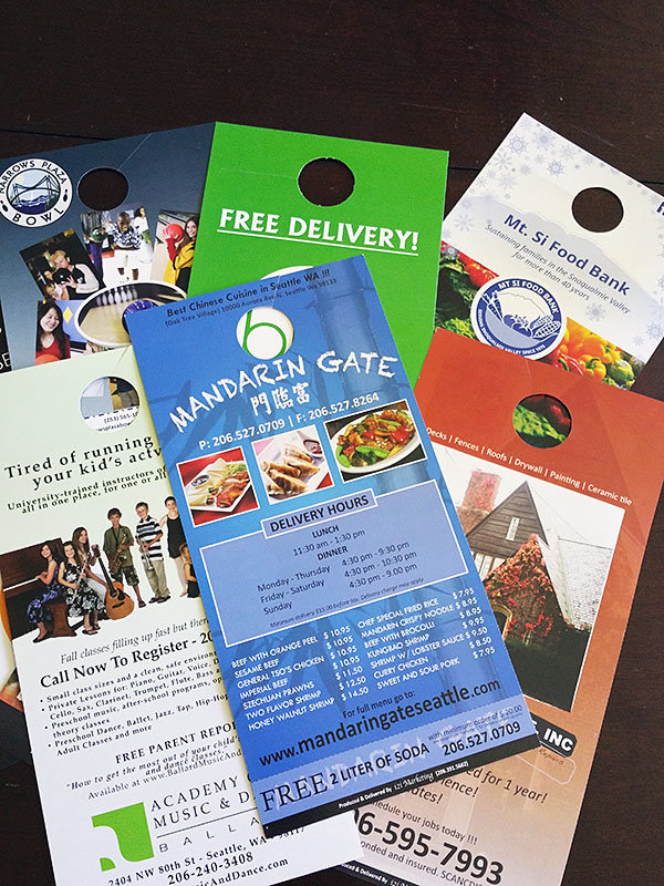 Door Hanger Door to Door Marketing | i2i Marketing
